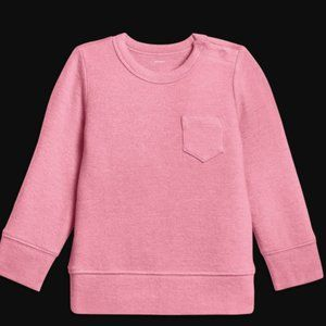 NWT Primary Baby Plush Knit Sweater Rose 18-24m